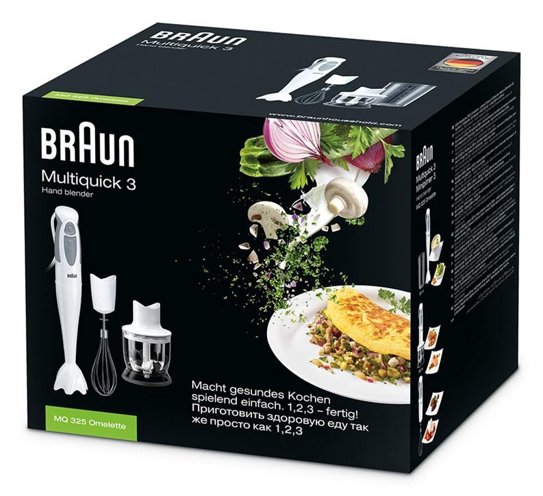 Trintuvas Braun MQ325 Omelette HB