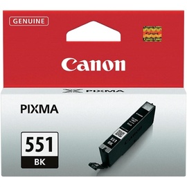 Rašalinio spausdintuvo kasetė Canon CLI-551BK, juoda