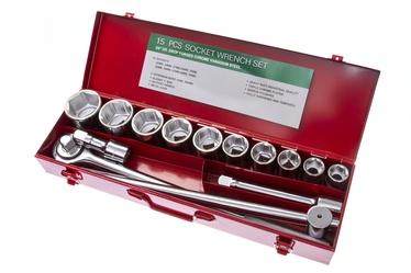 """Padrunvõtmete komplekt Forte Tools 21001 3/4"""" 22-50 mm 14 tk"""