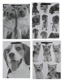 Dovanų maišelis šuniukas