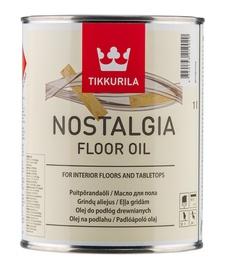 Bespalvis medienos aliejus Tikkurila Floor oil, 3 l