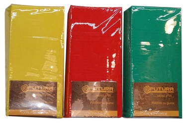 """Paklodė su guma """"Futura"""", 180 x 200 cm, raudona"""