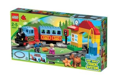 Konstruktorius LEGO Duplo, Mano pirmasis traukinių rinkinys 10507