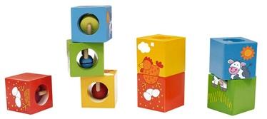 Žaislinės medinės kaladėlės 3522