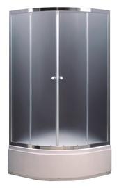 Dušo kabina Thema Lux TR-117, 90x90x195 cm