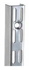 Baltas profilis Futura ITI0283, 2400 mm