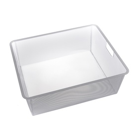 Baltas krepšys Futura ITI0272, 527 x 427 x 185 mm