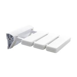 Dušas sēdeklis A, 36x32,5x5,5cm, balts