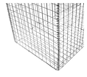 Gabions, 3 mm, 0.25 m x 0.5 m x 0.5 m