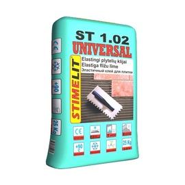 Elastiniai plytelių klijai Stimelit ST1.02, 25 kg