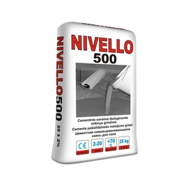 Savaime išsilyginantis sluoksnis Stimelit Nivello 500, 25 kg