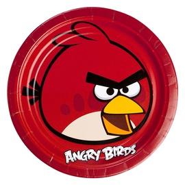 Gimtadienio lėkštė Angry Birds  23 cm, 8 vnt