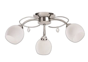 Griestu lampa Futura MX11219/3 3X60W E14
