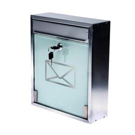 """Pašto dėžutė """"Vagner SDH"""" TX0520-G, 213 x 320 x 90 mm, sidabro spalvos"""
