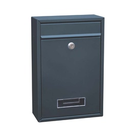 """Pašto dėžutė """"Vagner SDH"""" TX0020-1, 213 x 320 x 90 mm, tamsiai pilka"""
