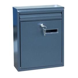Postkast TX0023 250x320x80mm, tumehall