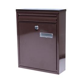 Postkast TX0023 250x320x80mm, pruun