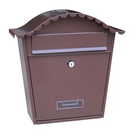 Postkast TX0091 362x370x134mm, pruun