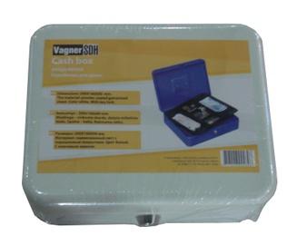 Rahakarp Vagner TS0030, 200x160x90 mm, valge