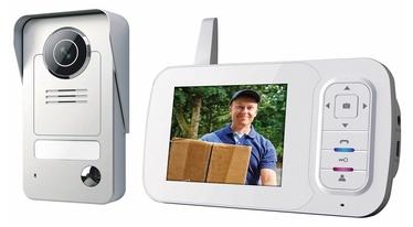 """Telefonspynė su 3.5"""" monitoriumi Smartwares VD38W"""