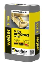 Stambiagrūdis betono mišinys Weber S-100, 25 kg