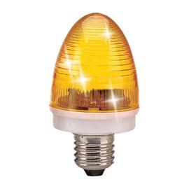 Stroboskopinė lemputė QS-006 3 W E27, geltona