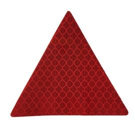 Kleebitav helkur Autoserio 2626, punane kolmnurk, 2tk