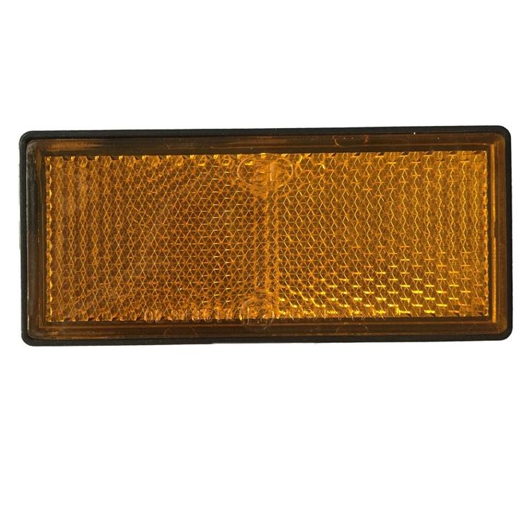 Kleebitav helkur Autoserio 265223, kollane nelinurk, 2tk