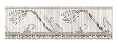 Keraamiline bordüür Cersanit Sara Grey, 8 x 25 cm