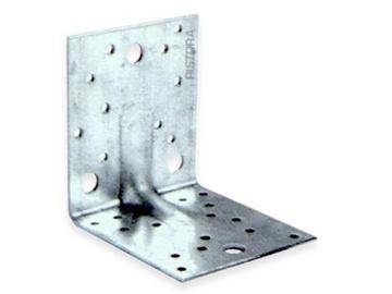 Nelygus sutvirtintas tvirtinimo kampas, 50x90x55x2,5 mm