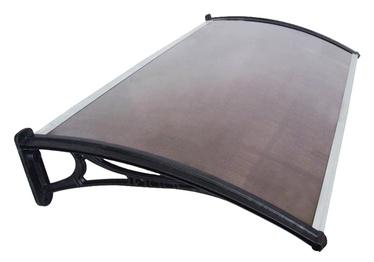 Ukse varikatus, 250x800x1000 mm, polükarbonaat