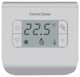Termostats Fantini Cosmi Standart CH111, sudraba