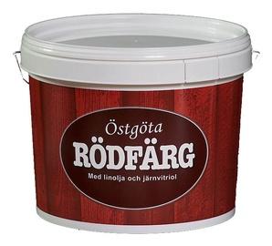 Punamuldvärv Ostgota Rodfarg, 10 l