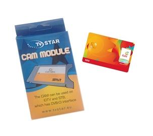 "Modulis ""TV Star"" DVB-T Conax Pocket Cam ir Gala TV kortelė"