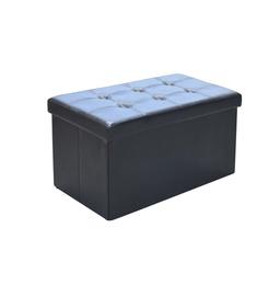 Tumba XYF987B, 76,5x40,5x40,5cm, must
