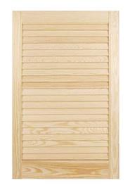 Žaliuzių tipo baldų durelės, 1406 x 494 mm