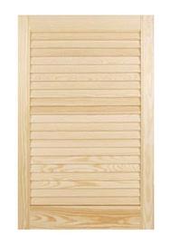 Žaliuzių tipo baldų durelės, 2422 x 594 mm