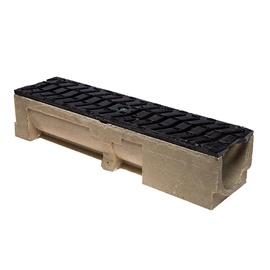 Latako elementas su kaliojo ketaus grotelėmis STORA Drain H100, 0,5 m