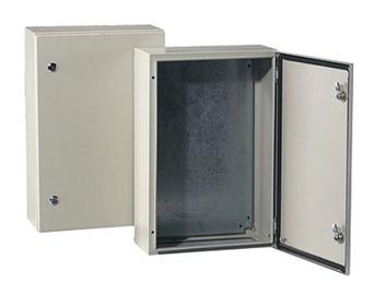 Metalinis skydas Tibox, 500 x 400 x 200 mm, IP66