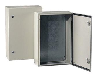 Metalinis skydas Tibox, 700 x 500 x 250 mm, IP66