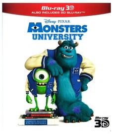 3D Blu-ray filmas Monstrų universitetas
