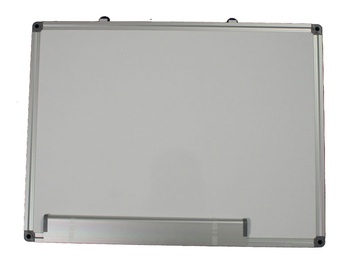 Magnettahvel alumiiniumist raamiga, 60x40 cm