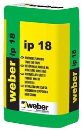 Mašininis ir rankinis tinko mišinys Weber IP18
