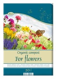 Orgaaniline kompost lilledele Biohumus & Soil 20 l