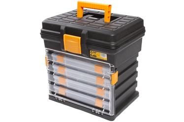 Smulkmenų dėžutė su stalčiukais Forte tools