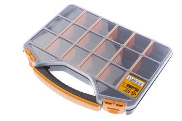 Smulkmenų lagaminas Forte tools ORG-13, 32,6x25,7x4,8 cm
