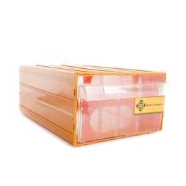 Smulkmenų dėžė su stalčiumi forte tools, 30,2x21,2x12,6 cm