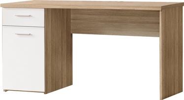 Stalas MT936 Q36, 140 x 60 cm, ąžuolo medienos spalva