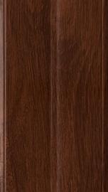 Nurgaliist KornerFlex, PVC painduv, 3 m, pähklipruun