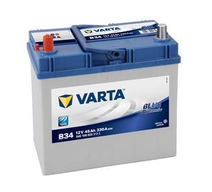 Akumuliatorius Varta BD B34, 45Ah 330A 12V